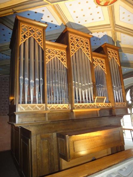 Orgel der Schlosskirche