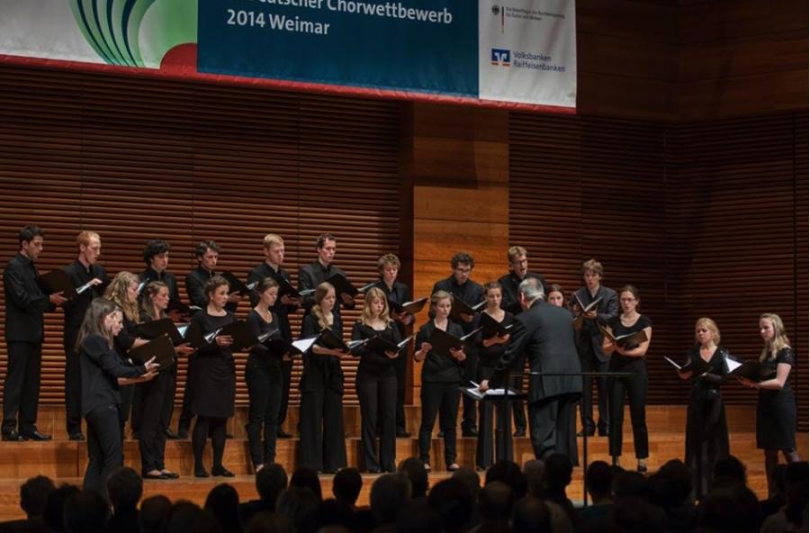 Kammerchor der Hochschule für Musik Freiburg / Morten Schuldt-Jensen