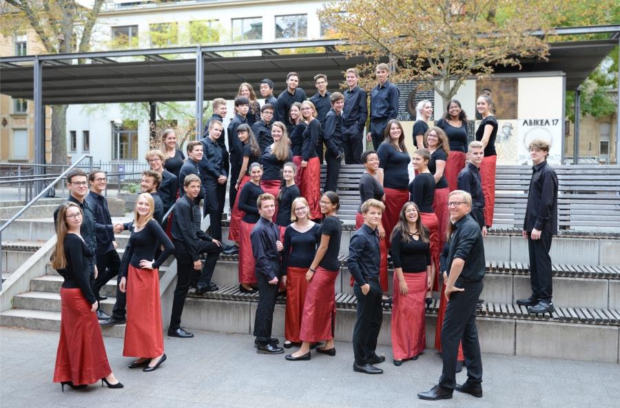 Kammerchor des Helmholtz-Gymnasium Karlsruhe / Stephan Aufenanger