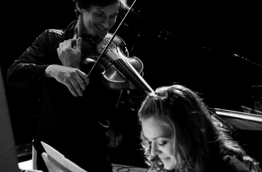 Sergey Poltavsky, Viola & Anna Orlova, Orgel
