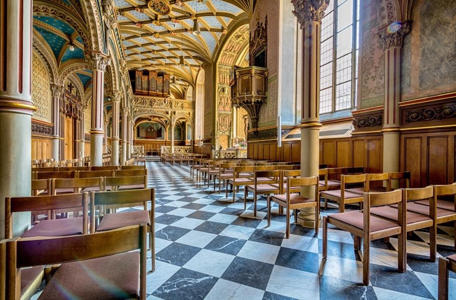 Innenraum Schlosskirche © © Patrick Mikolaj