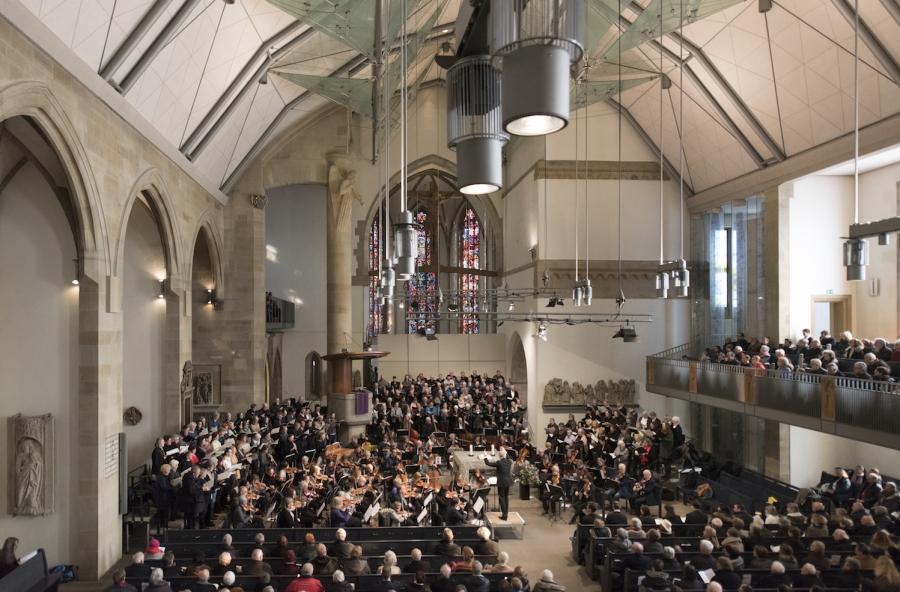 Gottesdienst am 25. Februar in der Stiftskirche © Ludger Schmidt