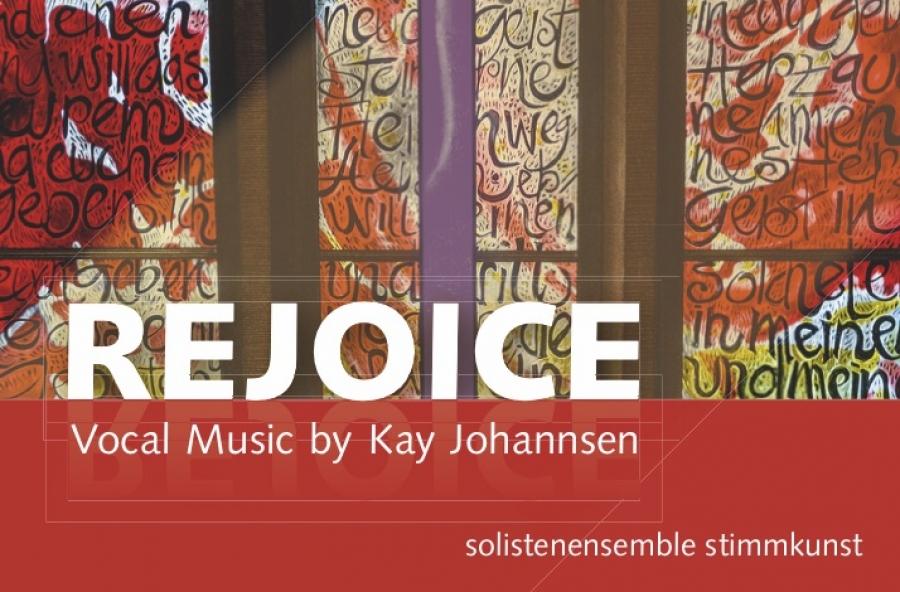 CD-Cover »Rejoice« – Veröffentlichung im Dezember 2018