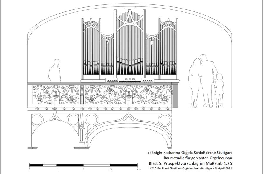 Raumstudie von Burkhart Goethe