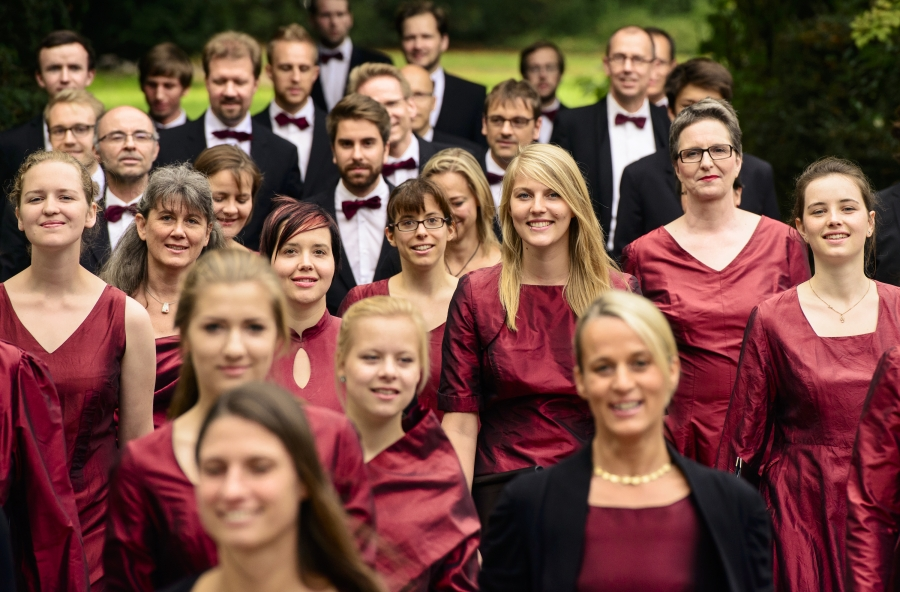 Anna Maria Hefele (Obertongesang), Kammerchor I Vocalisti / Hans-Joachim Lustig