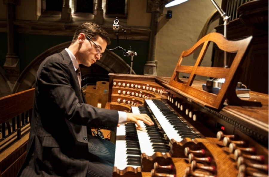 Nathan Laube, Orgel (Rochester)